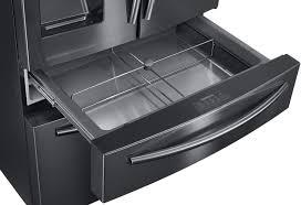 Samsung French Door Refrigerator Cu Ft - rf28jbedbsg 36 inch samsung black stainless steel refrigerator