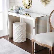 Mirror Console Table Mirrored Console Table Look 4 Less And Steals And Deals