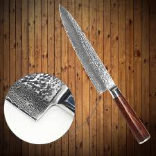 qing brand kitchen knife vg10 damascus steel knife 8 inch chef