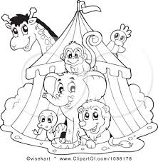 1000 images circus stuff coloring preschool