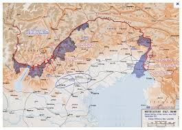udine italy map the italian front