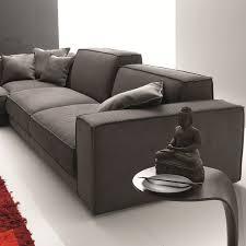 canapé en plume canapé moderne berry avec coussins d assise en véritable plume d oie
