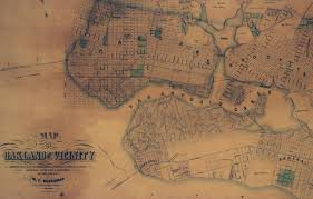 Oakland California Map Maps Of Oakland Ca Large Historic Maps For Sale 2017