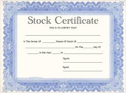 corporate bond certificate template 21 stock certificate templates