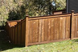 Types Of Backyard Fencing King Style Wood Privacy Fences Midwest Fence