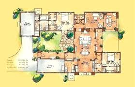 courtyard style house plans courtyard style home plans