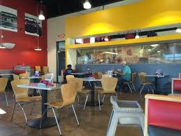 inside eating area picture of sonic drive in maricopa