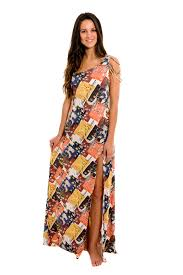 lua morena long one shoulder dress ethnic style saida ethiopia