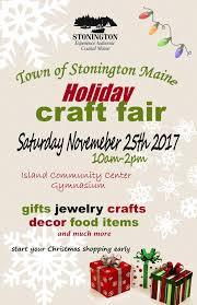 stonington holiday craft fair u2013 deer isle stonington chamber of