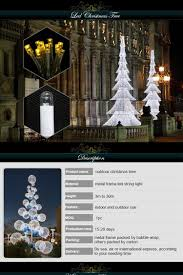 led artificial giant christmas tree outdoor led acrylic