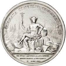 chambre du commerce rouen 64700 louis xv médaille création de la chambre de commerce de