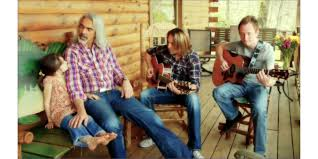 guy penrod and members of his family kick back country style on