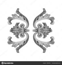 gypsum plaster ornaments stock photo kozlik 138487308