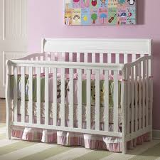 Graco Stanton 4 In 1 Convertible Crib Graco Cribs Stanton 4 In 1 Convertible Crib In White Free Shipping