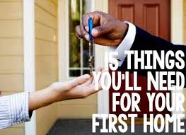 things to buy for first home checklist 18 things you ll need for your first home house future and real