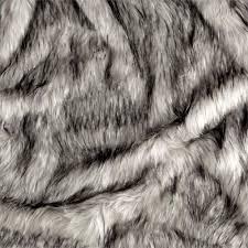 Faux Fox Fur Throw Shannon Norwegian Faux Fox Fur Steel Discount Designer Fabric