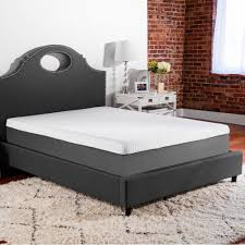 Enigma White Glass Bedroom Furniture Comfort Revolution 10 In Full Memory Foam Mattress F03 00036 Fl0