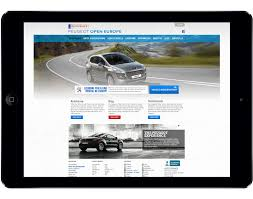 peugeot car rental europe complex e commerce management custom development solutions