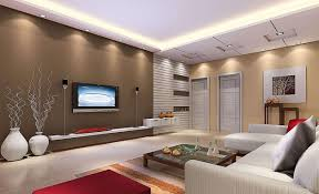 decorations modern japanese interior design with brown wall and