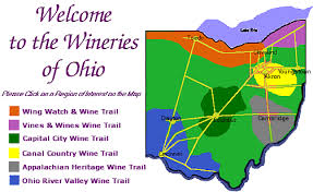ohio river valley map what are the best regions for growing wine in ohio ohio wine