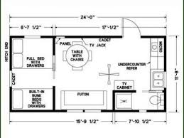 12x24 tiny house plans tiny house