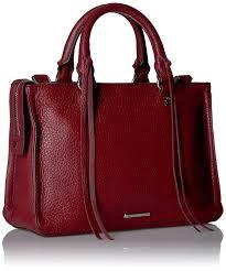 amazon com rebecca minkoff micro regan satchel tawny port clothing