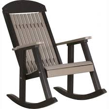 Luxcraft Outdoor Furniture by Luxcraft Poly Grandpa Rocker Chair Hostetler U0027s Furniture