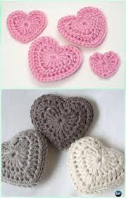 Free Pattern For Crochet Flower - amigurumi crochet 3d heart free patterns free pattern 3d and