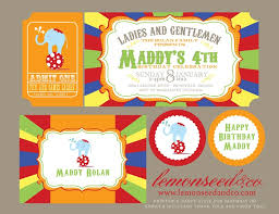 170 best circus invites images on circus theme