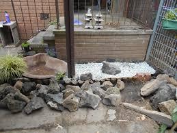 new pond and rock garden obsidian u0027s ramblings