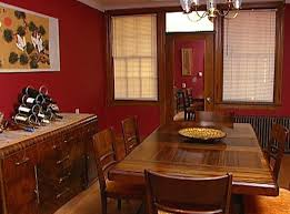 Dining Room Color Combinations by Dreadful Red Walls Dining Room Color Schemes Home Interiors