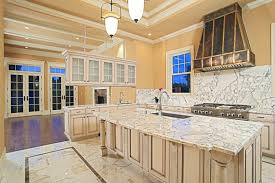 Cheap Flooring Options For Kitchen - tile floors warm kitchen flooring options mini pendants lights