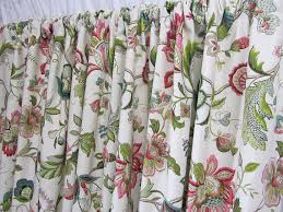 floral curtains jewel tone window curtains jacobean floral