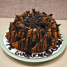chocolate halloween cakes the ginger cook pumpkin bundt cake
