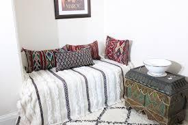 Berber Throw Rugs Moroccan Vintage Wedding Blanket Handira Berber Throw Wool