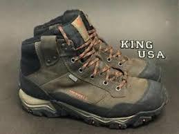 s winter hiking boots size 12 s merrell polarand rove waterproof winter boots j21127 brown