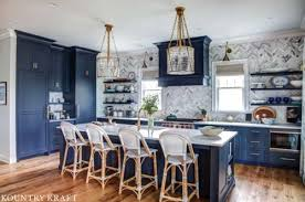 blue kitchen island and white cabinets paint match archives kountry kraft