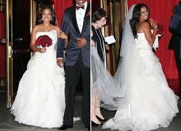 wedding dress for less get la la vazquezs wedding day dress for less