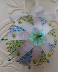 iced mint u0027 sequin christmas ornament crafts i want to make