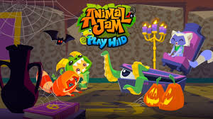 animal jam play wild spooky halloween youtube
