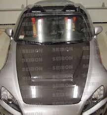 nissan 350z vs honda s2000 vsii style carbon fiber hood for 2000 2010 honda s2000