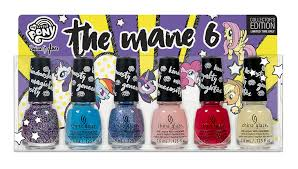 china glaze gallops into town with my little pony inspired nail