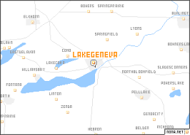 map of lake geneva wi lake geneva united states usa map nona