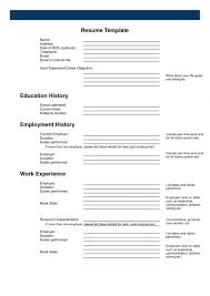 resume template free job profile examples software developer