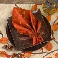 easy napkin folding ideas for your table napkins