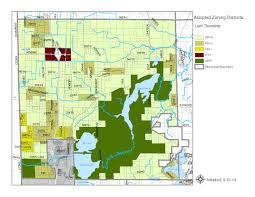 Zoning Map Township Zoning Maps Chisago County Mn Official Website