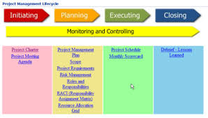 project management process a mindjet professional services use
