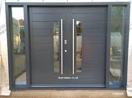 modern entry doors contemporary front doors oak iroko and other woods bespoke doors