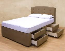 bed frames king size bed with storage drawers underneath queen