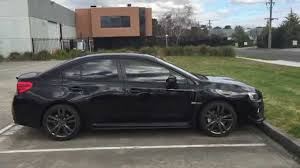 sti subaru 2016 black quick walk around of my 2016 crystal black silica subaru wrx cvt